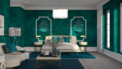 439 - Modern - Bedroom  - by Claudia Correia