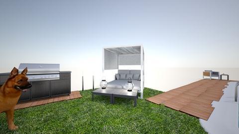 Dream outdoor space - Garden  - by brenna remy