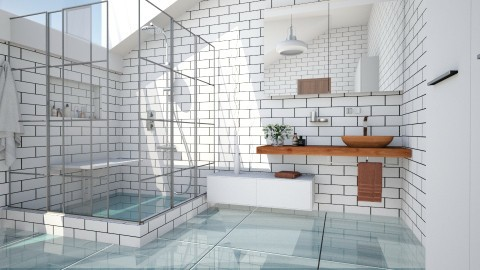 Feeling Fresh - Modern - Bathroom  - by evahassing