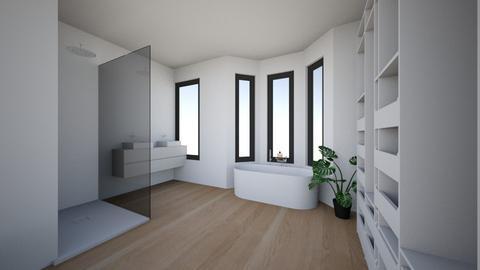 badkamer 1ste - Bathroom  - by dupontlouise