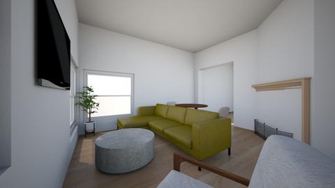 APT 6 - Living room - by hannahcarlson