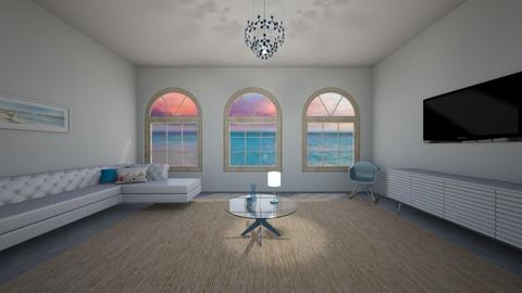 Glam Beach Living Room - Glamour - Living room  - by BaylorBear