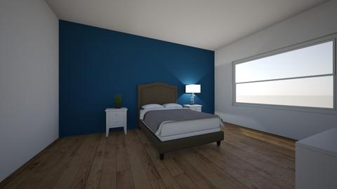 Bedroom on a budget - Modern - Bedroom  - by NB123412