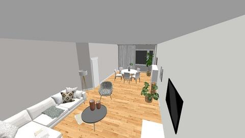 Modern Warm - Living room  - by MartaB1