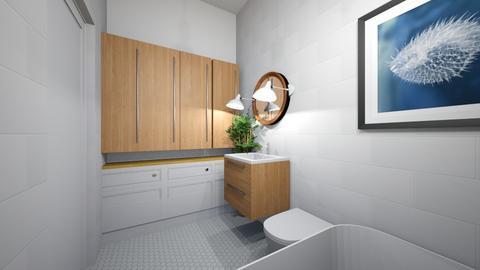 Lazien gora DUZA1 - Bathroom  - by asiaczerniawska
