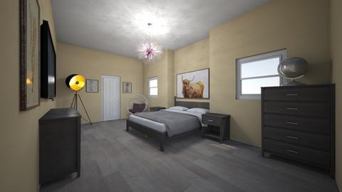Yellow room again I think - Bedroom  - by BrookieCookieBarrett
