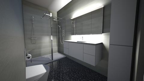 mini bath - Modern - Bathroom  - by danisovski