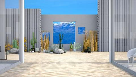 Rock Garden - Modern - Garden  - by Isaacarchitect