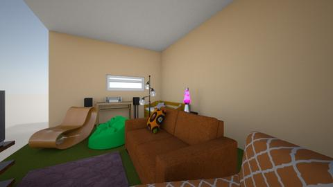 Jordan Basement 2 - Living room  - by jlander