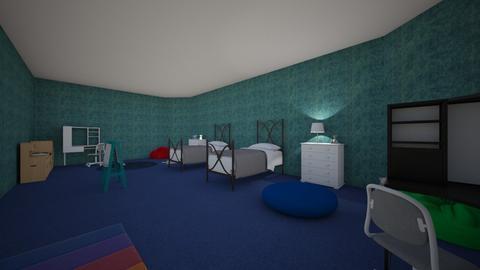 Siblings room - Kids room  - by doMincK07