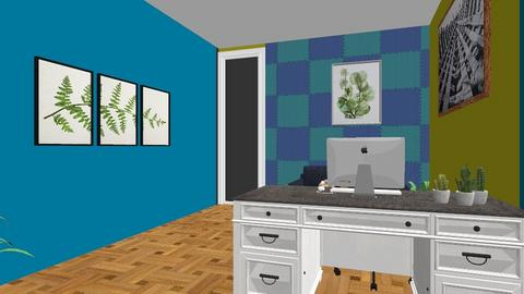 Reception sidewall - Office  - by Bwogyi