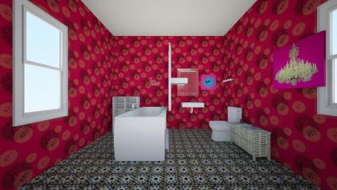 my bathroom - Bathroom - by Leah Cuadrado