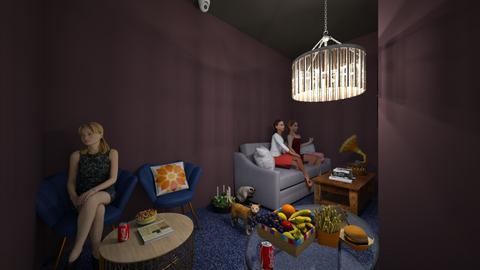 Maria Alice living room - Living room  - by 10kozdim