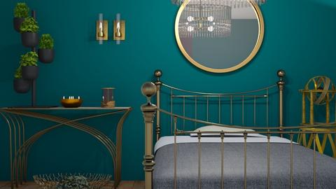 M_Brass - Bedroom - by milyca8