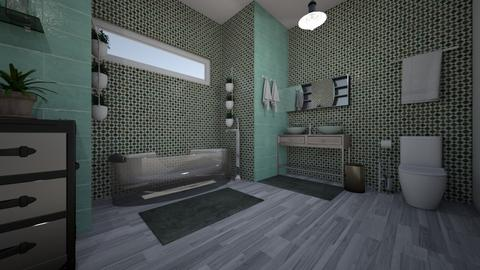 soothing Bath  - Modern - Bathroom - by decordiva1