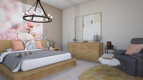 Pink Aesthetic Bedroom - Modern - Bedroom  - by Yate