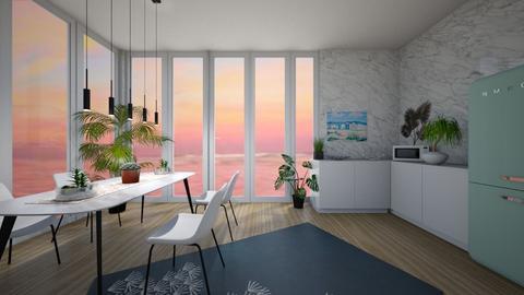 Beach kitchen for contest - Modern - Kitchen  - by deleted_1619766550_Pheebs09
