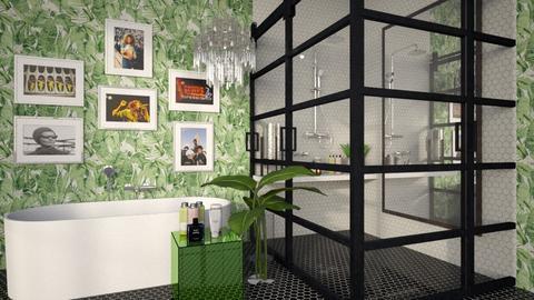 Art Deco Bathroom - Bathroom  - by MiaM