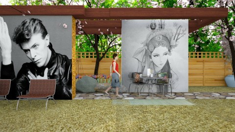 china girl - Modern - Garden  - by Evangeline_The_Unicorn