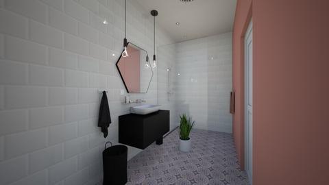 real n - Bathroom - by dkus