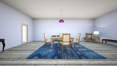 Turquoise - Eclectic - Dining room  - by rodio33122iiih