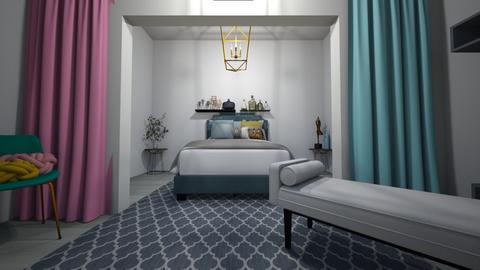 Modern Bedroom 1 - Modern - Bedroom  - by Drachenmaedchen