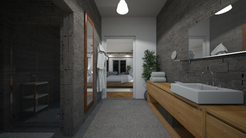 Hotel Bathroom - Modern - Bathroom  - by GIANNI VANCOMPERNOLLE