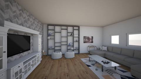 Maths Blueprint Project - Modern - Living room  - by RiyaaPanchal