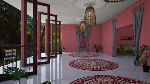 Foyer - Modern - Living room - by KittyGirl31