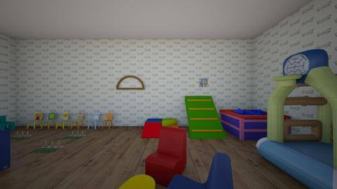 sala de psicomotricidad  - Kids room  - by rocio belen
