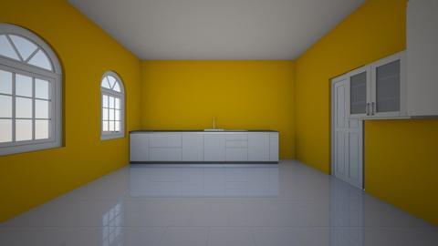 Yellow Kitchen - Kitchen - by Lisa2820