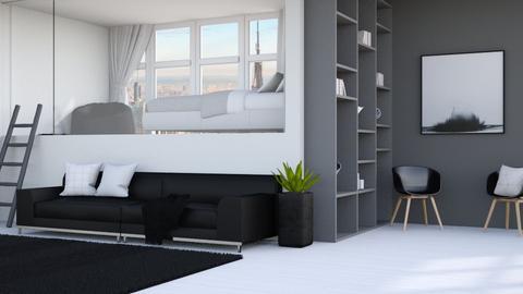 Loft - Minimal - Living room  - by kitacat