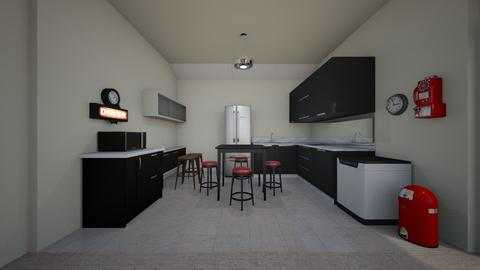 Diner Kitchen - Kitchen  - by mspence03
