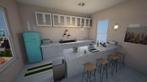 PinkTropical Kitchen - by Anastasija Jovanovic