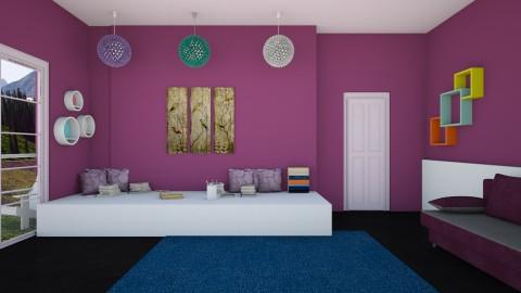 Bedroom - Bedroom  - by Uroosa Bint E Haroon