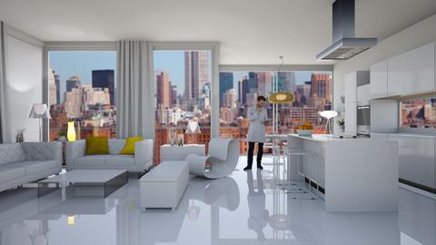 Pure - Living room  - by Eleonor Debus