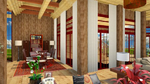 barn  make over - Rustic - by shahroz