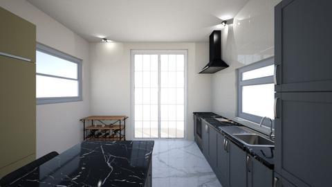 tiny modern kitchen - Kitchen - by bo didderen