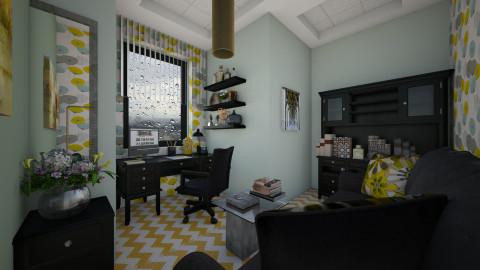 M_ Rainy day - Office - by milyca8