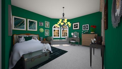 Malfoy manor - Bedroom  - by DobbyThePuppy