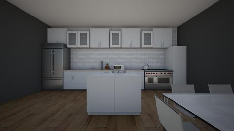 Interior Design_Kitchen - Kitchen  - by ryleesimmons
