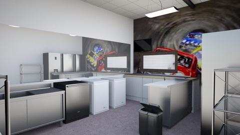 Laboratory - Vintage - Kitchen  - by maccs