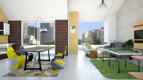 SH - Living room  - by Vivi fauziaah