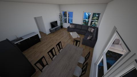 test house 2 - Kitchen  - by Flexuu