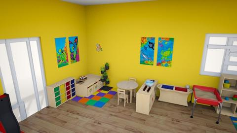 aula - Kids room  - by jacquelinemori