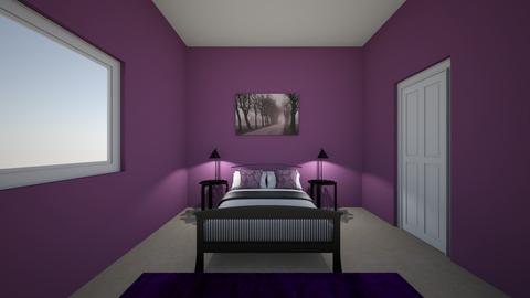 plum master bedroom - Bathroom  - by bethdonoghue1