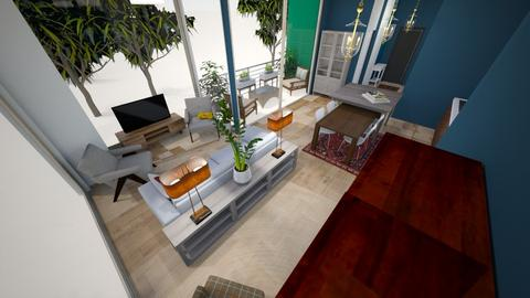 living room from cab - Living room  - by condo1234