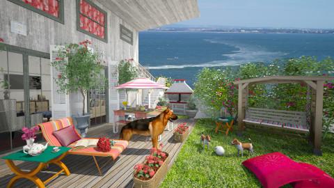 Garden over Tagus - Modern - Garden  - by Joao M Palla