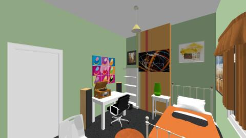 Bedrood Draft 1 - Retro - Bedroom  - by daniel_shipman