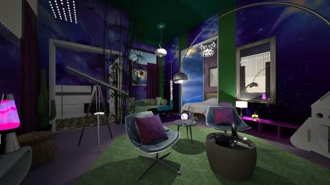 Inner Space Room - by Tiany Gullatt